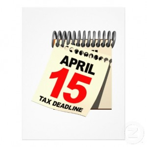 Income Tax-April 15th Logo