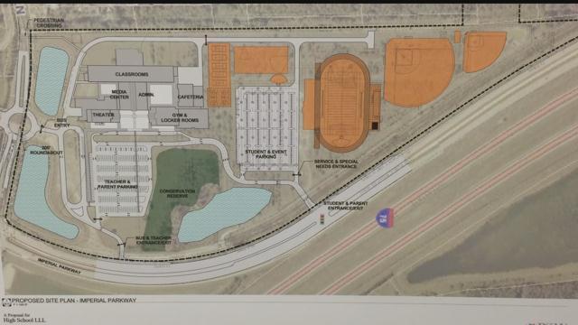 Bonita Springs High School-Imperial Site Plan