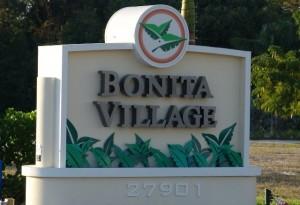 Bonita Village Sign
