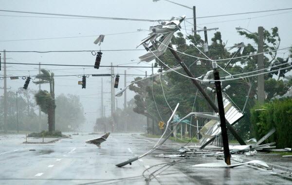 Naples hurricane damage